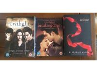 Twilight DVDs and book