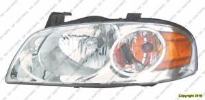 Head Lamp Driver Side Base-S High Quality Nissan SENTRA 2004-2006