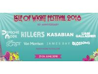 Isle of Wight Weekend Camping Festival Ticket - 50th Anniversary