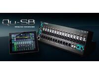Allen and Heath QU-SB - pro digital mixer - multitrack - sound check - iLive fx - dynamics