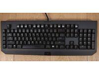 Razor Blackwidow Cherry MX Blue Switch Gaming Keyboard