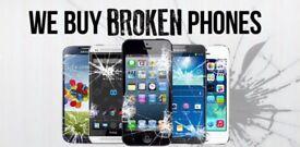 I buy old and broken phones for cash