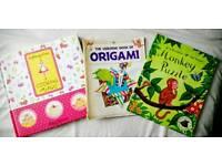 Cooking Magic / Origami / Monkey Puzzle