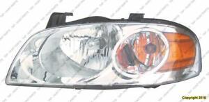 Head Light Driver Side Base-S Nissan SENTRA 2004-2006