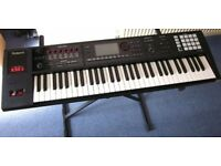 ROLAND FA06 KEYBOARD, SYNTHESISER WORKSTATION 61 NOTE WITH CASE