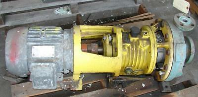 A.w. Chesterton Centrifugal Pump 1x2 Stainless 5 Hp-used