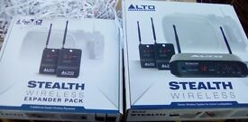 Alto Stealth Wireless Stereo PLUS expander pack
