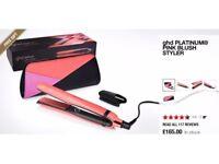 GHD Platinum Pink Blush Styler Hair Straighteners