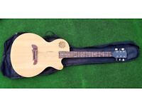 Riverside Semi Acoustic Electric Guitar and bag, very good condition.