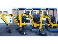 Jcb mini digger hire