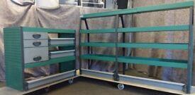 Edstrom Van racking, Van shelving, Van Drawers, E14