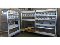 Sortimo Globelyst M Van racking, van shelving, box tidy, lin bins, S173