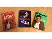 Lockdown Reading: 3 CLARKSON H/B BOOKS