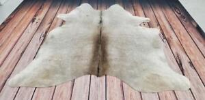 Cowhide Rug Brazilian Real, Natural, Unique, Authentic, Soft Cow Hide Rugs Large Cow Skin Rug Free Shipping/Delivery