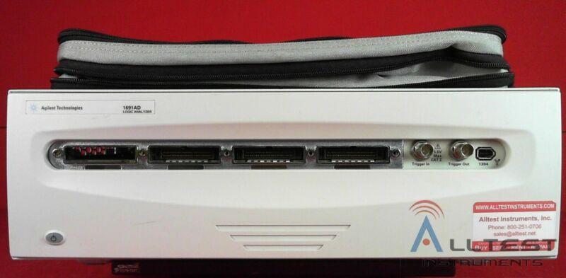 HP - Agilent - Keysight 1691AD 2M 102 Channel Portable Logic Analyzer