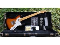 2011 Fender American vintage '69 Telecaster Thinline, Sunburst + OHC