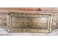 Decorative Indian Brass tray
