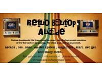 Handmade Retro Bartop arcade machine