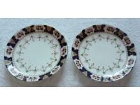 A Pair of J.H. Walton Windsor China Art Nouveau Plates