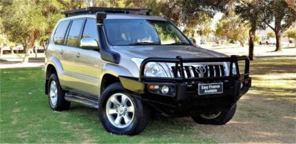 2003 TOYOTA PRADO GXL 3.0 TURBO DIESEL 5SP AUTO 8SEATS WAGON Welshpool Canning Area Preview