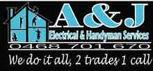 A & J ELECTRICAL AND HANDYMAN SERVICES Wattle Grove Liverpool Area Preview