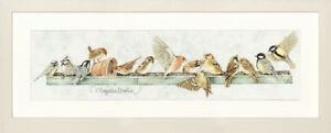 Lanarte - Counted Cross Stitch Kit - The Pecking Order - Birds  -  PN-0007963