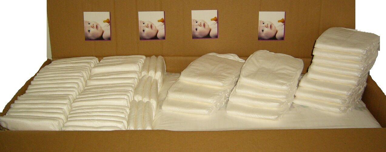 Windeln Babywindeln NEWBORN (Gr.1 bis Gr.6)  -1A Qualität- ab 16 Cent je Windel