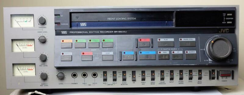 JVC BR-8600U VHS Video Recorder