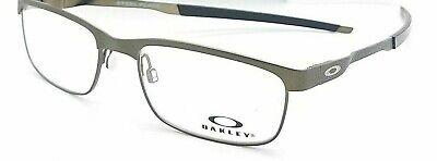 NEW Oakley Steel Plate RX Prescription Frame Powder Pewter OX3222 0452 52mm