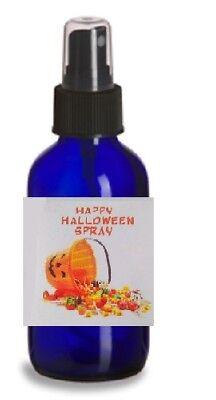 HAPPY HALLOWEEN Linen & Room Spray POPCORN & CANDY CORN Fragrance (Halloween Candy Bouquet)