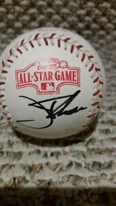 2004 All Star Game Ball JIm Thome