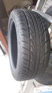 4 pneu d'ete Sailun Atrezzo 205 50R 17 comme neuf