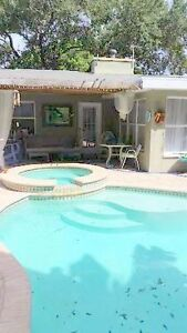 "POOL-SIDE APARTMENT and ""COTTAGE"" VACATION RENTAL!"
