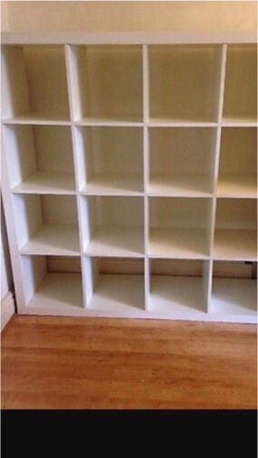 Ikea Kallax white 16 box storage unitin Newtownabbey, County AntrimGumtree - Ikea storage unit in good condition, great for kids toy storage. 6ft x 6ft
