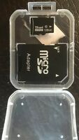 Micro SD Card with SD Adapter + Case