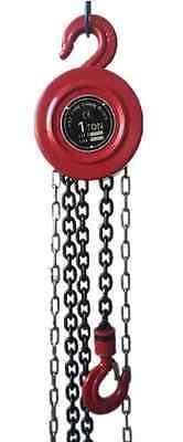 1 TON Manual Chain Hoist 2000 Lb 8 Ft Lift Winch Engine Hoists Rigging System