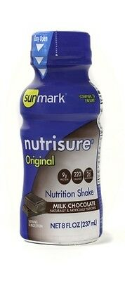 Sunmark Nutrisure Nutrition Shake, Chocolate, 8 Oz Bottle...