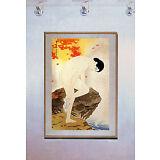 Woman at Hot Springs 15x22 Hand Numbered Japanese Print Shinsui Asian Art Japan