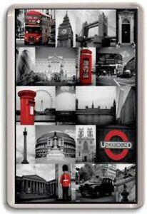 London England Jumbo Fridge Magnet #2