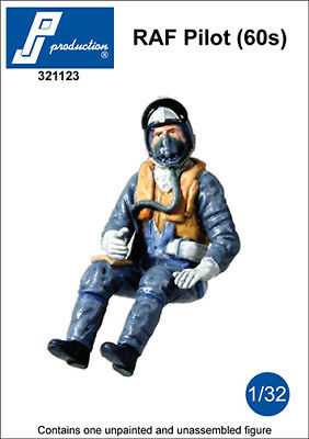 Used, 1/32 PJ PRODUCTION RAF PILOT SEATED IN A/C (60s) for sale  Killeen