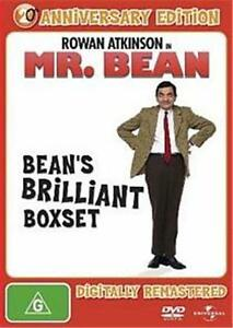 Mr BEAN'S BRILLIANT Box Set : 20th Anniversary Edition : NEW DVD