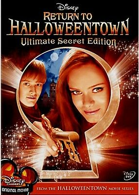 Disney Channel Sequel Return to Halloweentown on DVD Last Halloween Town Movie 4