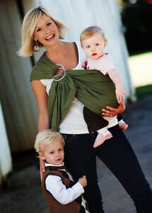 Lightly-Padded-MAYA-WRAP-Baby-Ring-Sling-Carrier-CHOOSE-COLOR-SIZE-RETURNS