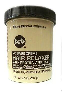 Base Creme Hair Relaxer (TCB Relaxer / Glättungscreme No Base Creme Hair Relaxer REGULAR 212g)