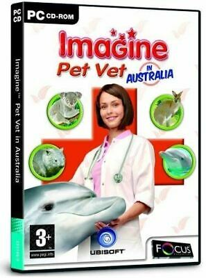 IMAGINE PET VET AUSTRALIA (PC) *NEW & SEALED*