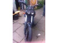Yamaha Virago 535 rat bike