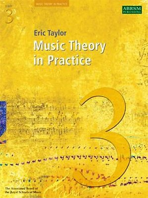 Music Theory in Practice  Grade 3  by  Eric Taylor,  ABRSM.  Exam workbook