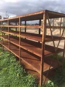 Large Steel Shelves - Perfect for your Shop Geelong Geelong City Preview