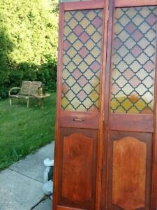 various doors and a new large window