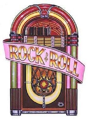 1950's Halloween Music (50's / 1950's Decade Party Supplies ROCK & ROLL MUSIC JUKEBOX)